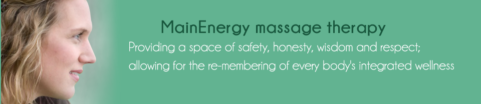 MainEnergy Massage Therapy Banner